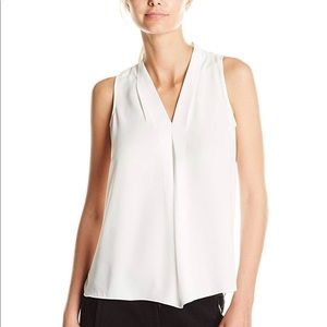 Vince Camuto Inverted Pleat Blouse